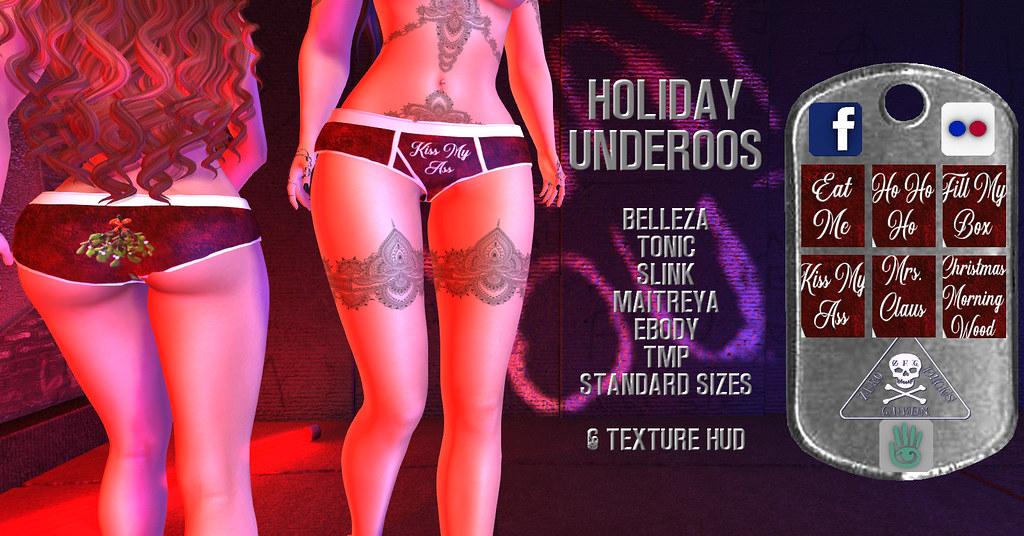 {zfg} holiday underoos - TeleportHub.com Live!