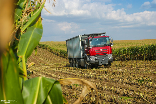 Corn Silage 2018 | TATRA PHOENIX 8x6 Agro Truck with the Fliegl silage extension | by martin_king.photo