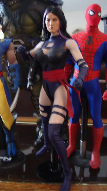 Toys Era Psylocke (Body swapped to a Phicen) 44738675400_ebb8fd140d_z