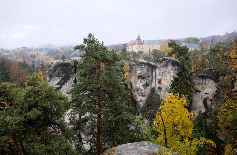 czeski raj zamek hruba skała