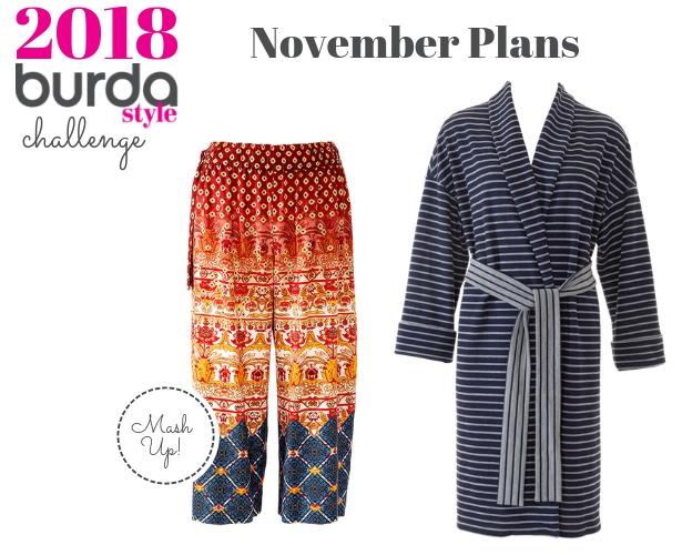 Burda Challenge November Plans