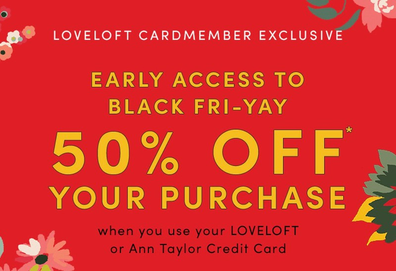 LOVELOFT Early Access To Black Fri-Yay