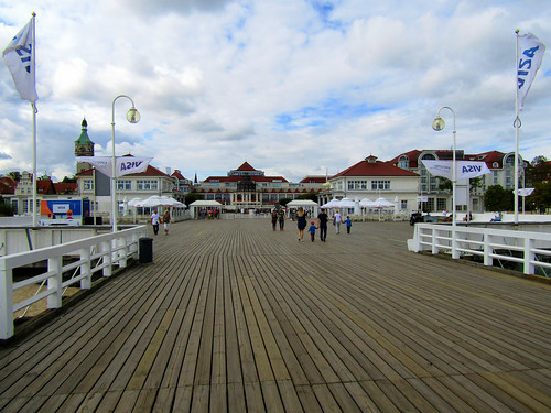 Sopot's Pier, longest wooden pier in Europe