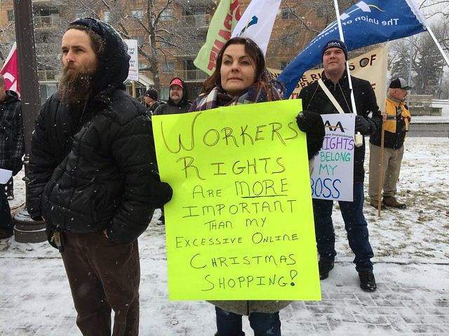 Solidarity with Postal Workers and the Right to Strike