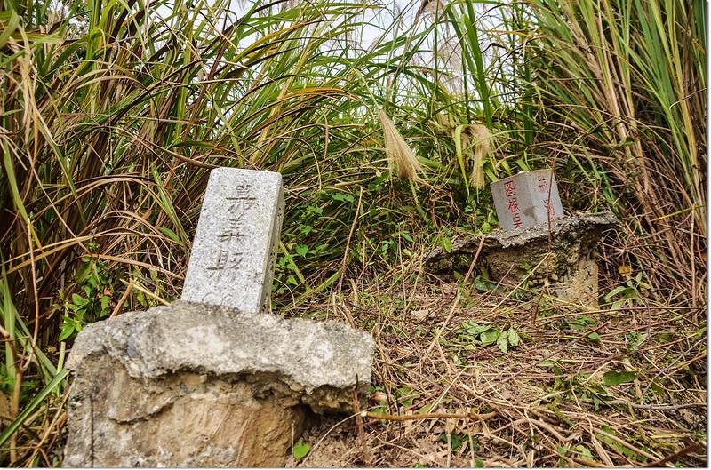 草湖子山航測F001圖根點與林務局嘉義縣60保安林控制點