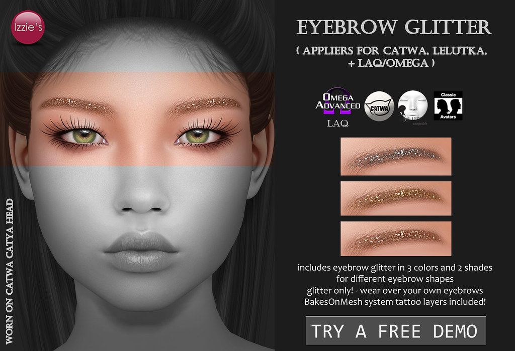 Eyebrow Glitter (for FLF) - TeleportHub.com Live!