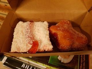 Iced Vovo Cake and Jam Doughnut from Yavanna