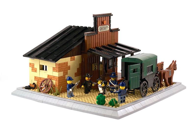 Sheriff's office - LEGO Far West