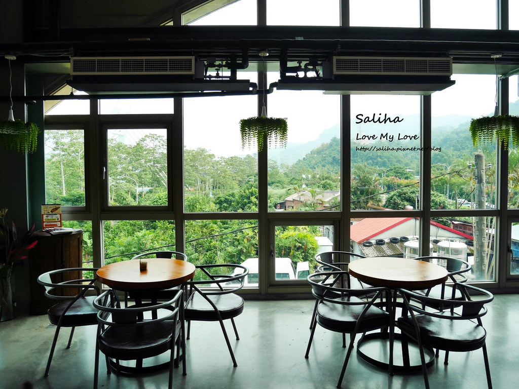 新北深坑老街一日遊景點推薦Arc Cafe下午茶玻璃屋咖啡廳 (6)