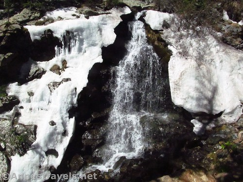 Williams Falls in the spring, Carson National Forest, New Mexico