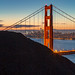 Golden Gate Christmas Glow by Dan at ProPeak - Thanks for 1.4M views!