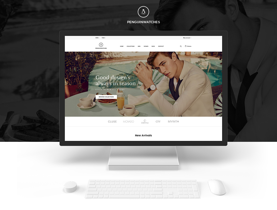 Leo Penguinwatch Fashion Prestashop 1.7 theme
