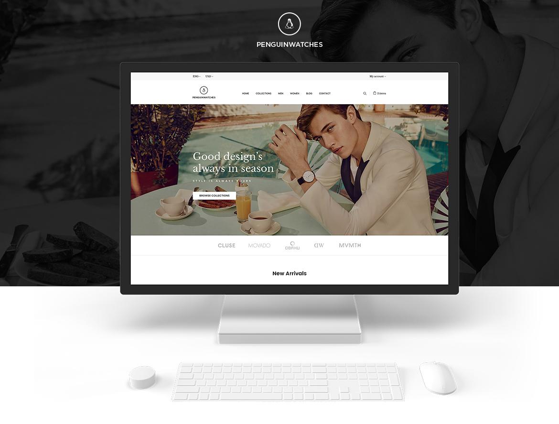 Leo Penguinwatch Fashion Prestashop 1.7 theme