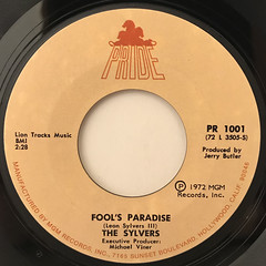 THE SYLVERS:FOOL'S PARADISE(LABEL SIDE-A)