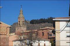 Iglesia de Santa Eugenia (Mués, Navarra, España, 29-2-2012)