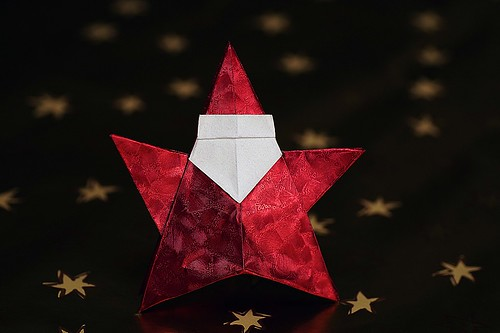 Santa Claus inflatable star (Richard Galindo Flores)