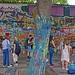 urban tree - Prague, The Lennon Wall