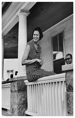 Richardson can't stay on the porch: 1967