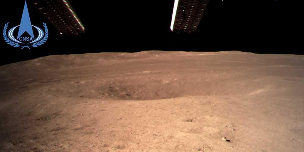 La Chine a réussi son atterrissage sur le côté mystérieux de la Lune