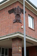 Bremerhaven: Reichs- und Bundesadler am Zollamt Rotersand
