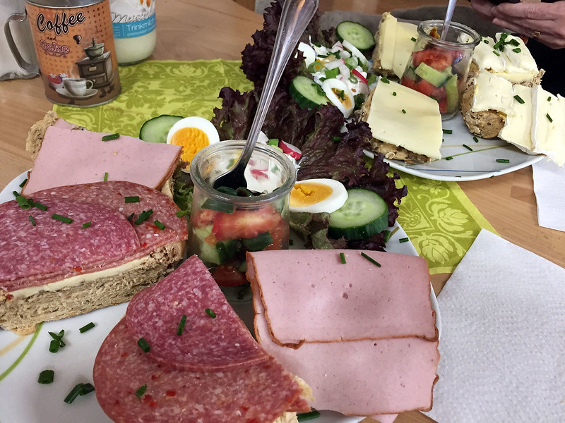 Lunch at Bäckerei Friedel Hensler