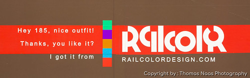 HSL Logistik, 185 602-0 : Railcolor Design