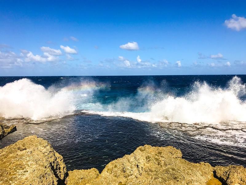 Mapu 'A Vaea Blowholes, Tonga