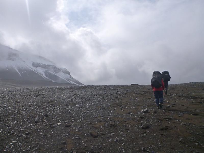 Landmannalaugar - Hekla, Vreemde Voettocht
