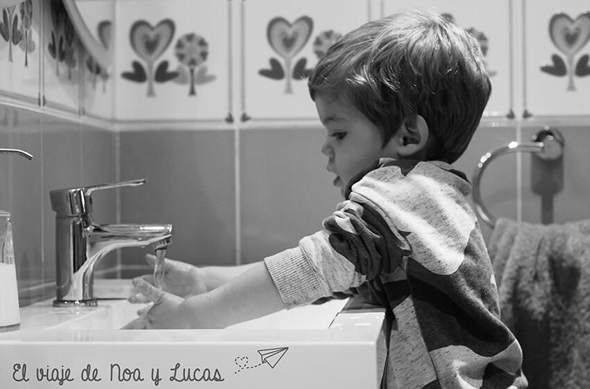 Lavandose las manos