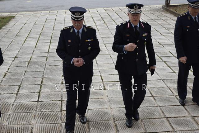 Βέροια: Τελετή απονομής πτυχίων σε αποφοιτούντες Αξιωματικούς στη Σχολή Μετεκπαίδευσης 30/11/2018