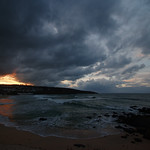 13. Detsember 2018 - 19:14 - Cloudscape over Porthmeor Beach, St Ives, Cornwall