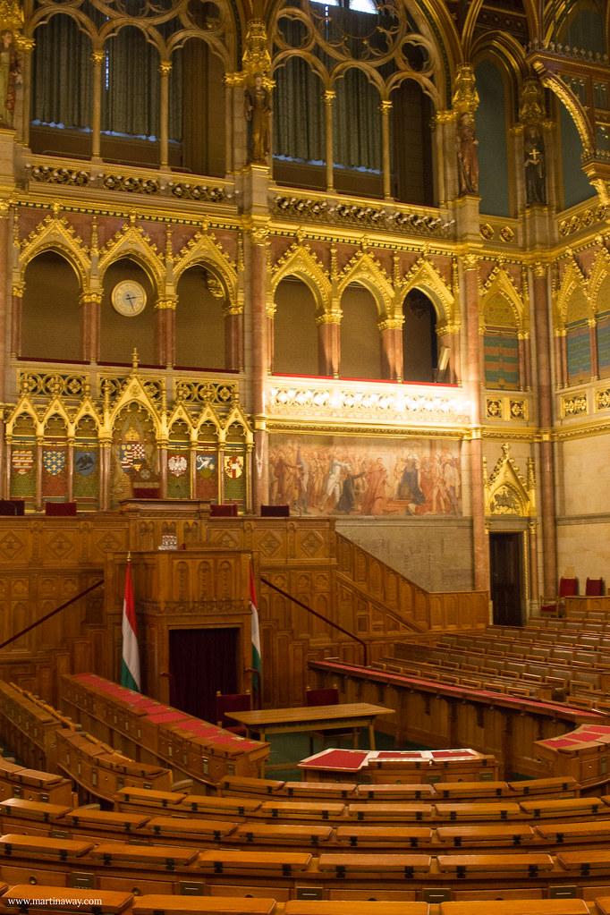 Sala delle sedute della Camera Alta