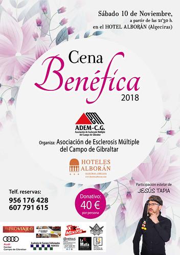 CARTEL CENA BENEFICA 10-11-2018-PRENSA1