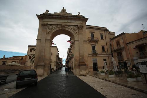 Noto: Porta Reale