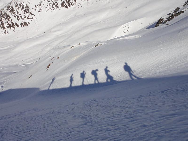 Stubai sneeuwschoenwandelen