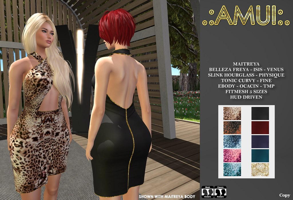 ".:AMUI:. ""Rossie"" Dress"
