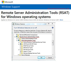 Remote Server Administration Tools for Windows 7