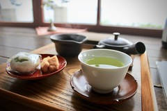 Japanese tea and relaxation