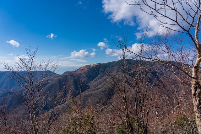 白谷ノ丸と黒岳