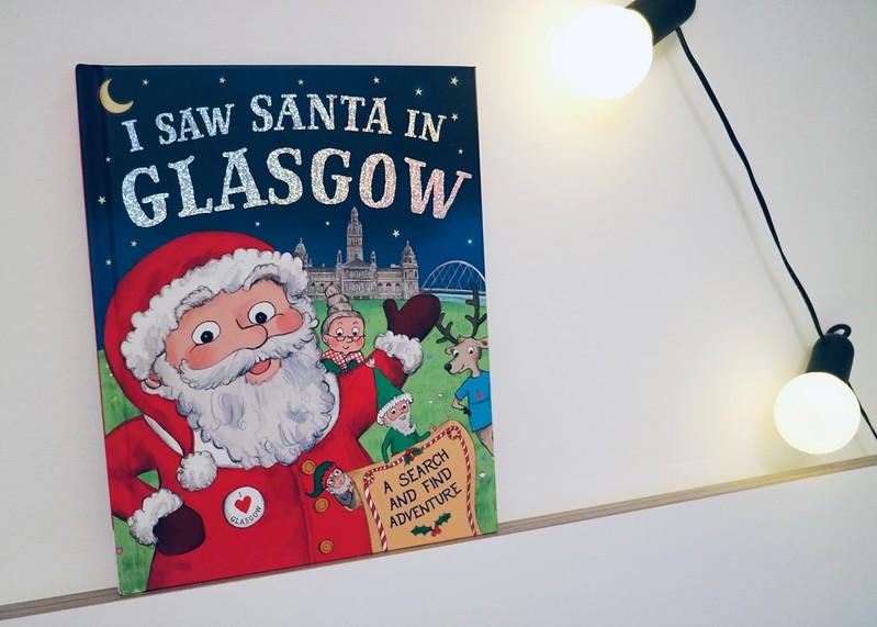 Santa in Glasgow