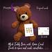 *PurpleMoon - Teddy Bear with Xmas Card
