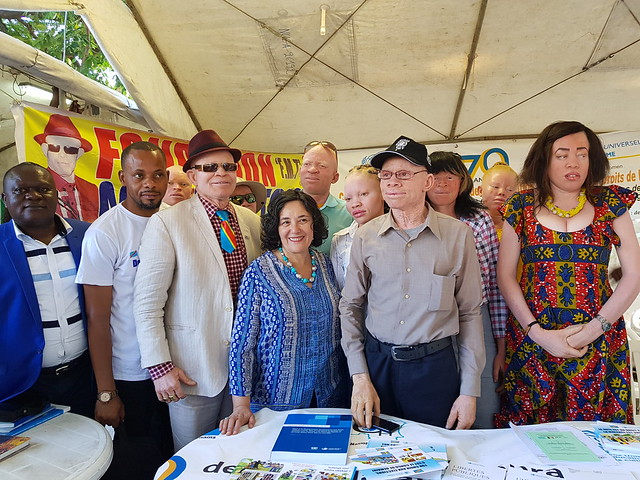 Kinshasa, DR Congo: The Special Representative of the UN Secretary General in the DRC, Leila Zerrougui, visited on Sunday the