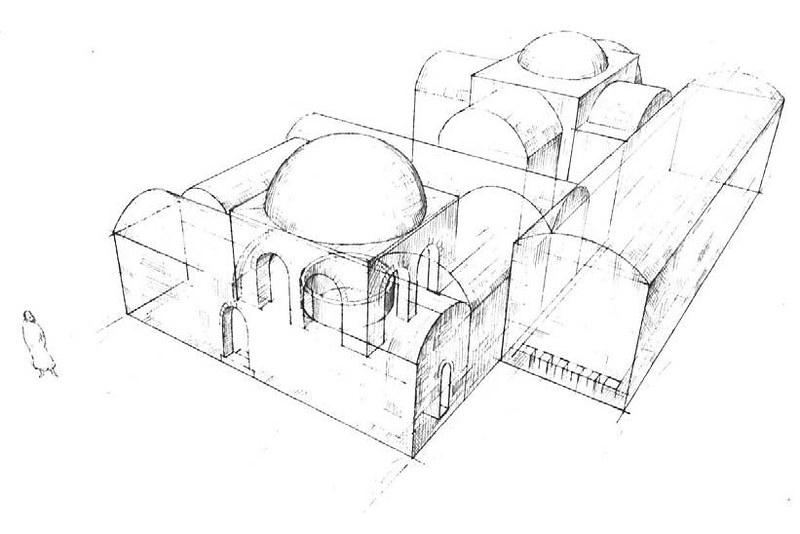 Tel-Beit-Yerah-umayyad-bathhouse-reconstruction-td-1