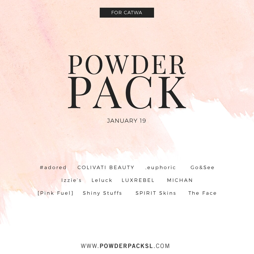 POWDER PACK CATWA January 19 MEDIA