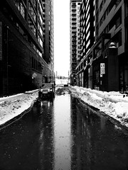 Griffintown Winter Reflections (Montreal)