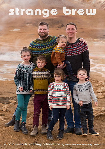 Strange Brew by tincanknits - Join them on a journey through colourwork yoke sweaters and their family road trip around Iceland