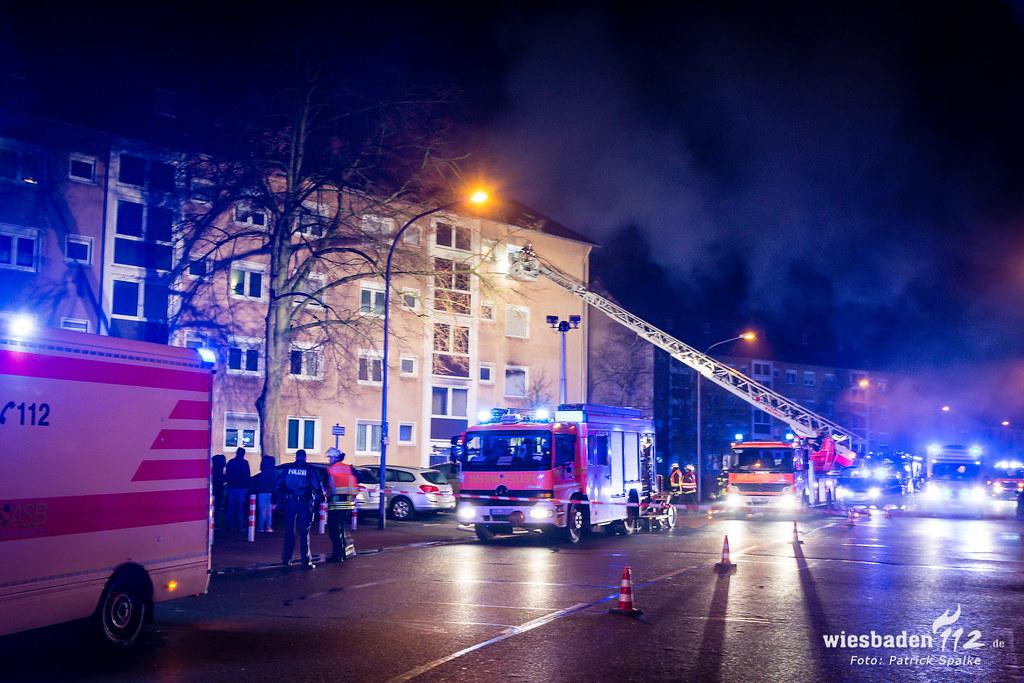 Wohnungsbrand Rüsselsheim 08.02.19