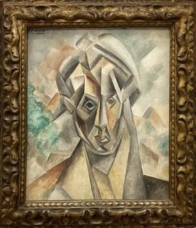 Portrait de Fernande Olivier, 1909, Pablo Picasso