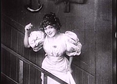 "MP as ""Dora"", the little hooker, ""FRIENDS"" (Biograph 1912)"
