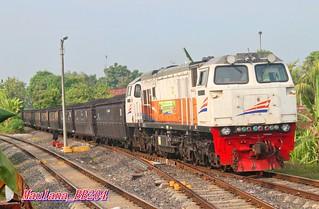 Coal train in the morning
